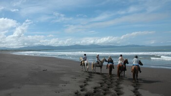 eco-safari te paard in Costa Rica
